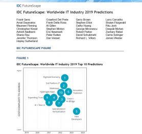 IDC FutureScape: Worldwide IT Industry 2019 Predictions