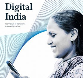 Digital India – Technology to transform a connected nation