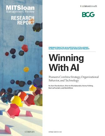 Winning With AI - Pioneers Combine Strategy, Organizational Behavior, and Technology-Report