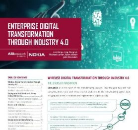 Nokia Enterprise Digital Transformation Through Industry 4.0 Report