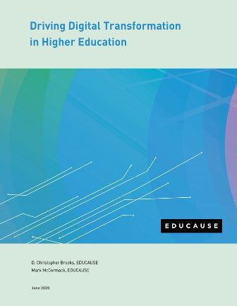 Driving Digital Transformation in Higher Education-Report