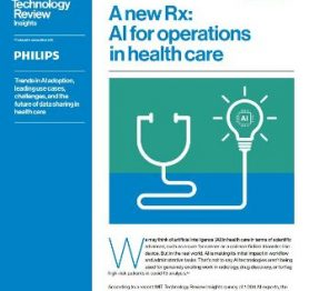 A new Rx: AI for operations in health care